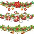 Christmas garland — Stock Vector #14073468