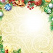 Stock Vector: Vintage Christmas background