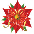 Stock Vector: Poinsettia