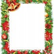 Christmas frame — Vector de stock #14680183