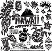 Hawaii Set — Stock Vector
