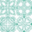 Seamless pattern from diamond cutting — Imagen vectorial