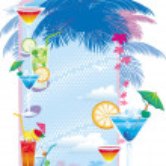 Template designs of cocktail menu — Stock Vector #2578054
