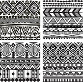 Seamless tribal texture — Stock Vector