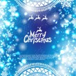 Christmas bokeh background — Imagen vectorial
