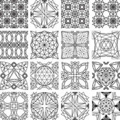 Seamless pattern from diamond cutting — Stockvector