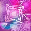 ストックベクタ: Abstract magentbackground with linear diamonds cutting