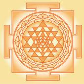 Shri Chakra Yantra — Stock Vector