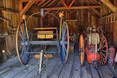 古い火戦い噴霧器 — ストック写真
