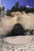 Mud volcano — Stock Photo