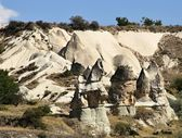 Rock formation in Cappadocia, Turkey — Stock fotografie