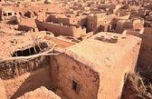 Woestijn stad Mut in Dakhla oase in Egypte — Stockfoto