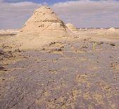 The limestone formation rocks in the Western White Desert,  Farafra, Egypt — Stock Photo