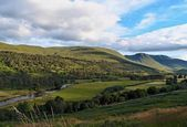 Summer in the Scotland highlands         — Stock Photo