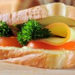 Stock Photo: Fresh and tasty sandwich