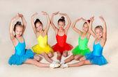 Lilla balettdansörer — Stockfoto