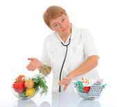Nutritionist — Stock Photo