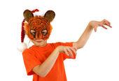 милый забавный тигра — Стоковое фото