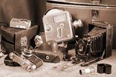 Vintage still- life — Stock Photo