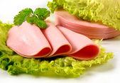 Salsiccia bollita — Foto Stock