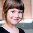 Stock Photo: Portrait of little girl