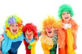 Funny little clown — Foto Stock