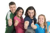 Grupo de jóvenes — Foto de Stock