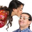 Kiss — Stock Photo
