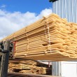 Stock Photo: Timber loading