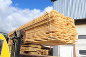 Timber loading — Stock Photo