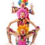 Funny clowns — Stock Photo #19669525