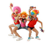 Funny clowns — Stock Photo