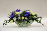 Panier de fleurs — Photo