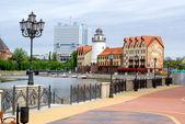 Kaliningrad. Koenigsberg. Fish Village — Stock Photo