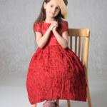 Porträt des kleinen Mädchens — Stockfoto