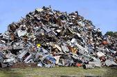 Metal garbage — Stock Photo