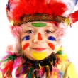 Kid Indian costume — Stockfoto
