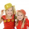 Funny carnival kids — Stock Photo