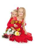 Little beautiful girls — Stock Photo