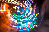 Multicolored lights — Stock Photo