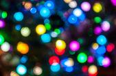 çok renkli holiday lights — Stok fotoğraf