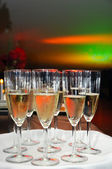 Champagne party — Stock Photo