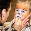 Kid's make-up — Stock Photo