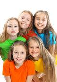 Happy beautiful children — Stock Photo
