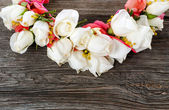 Elegance flower garland — Stock Photo