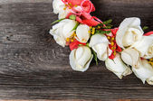 Elegance flower garland — Stockfoto