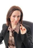 Erfolgreiche geschäftsfrau — Stockfoto