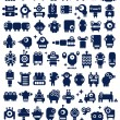 Big set of monsters and robots. — Stock Photo