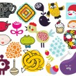 Mix of different vector images. vol.69 — Imagen vectorial