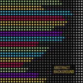 Abstrait avec des lignes colorées. — Vecteur